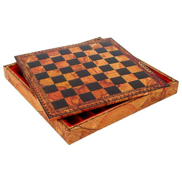 Chess board box 218MAP 28 x 28 cm
