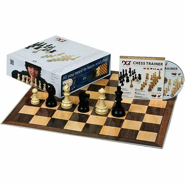 Chess Starter Box Blue
