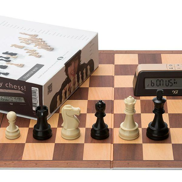 Chess Starter Box Brown
