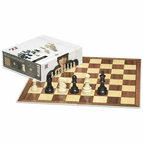 Chess Starter Box Grey