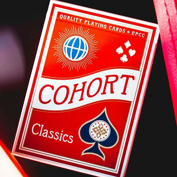 Cohorts Red Playing Cards