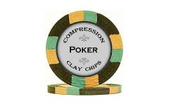 Compression Clay Chips