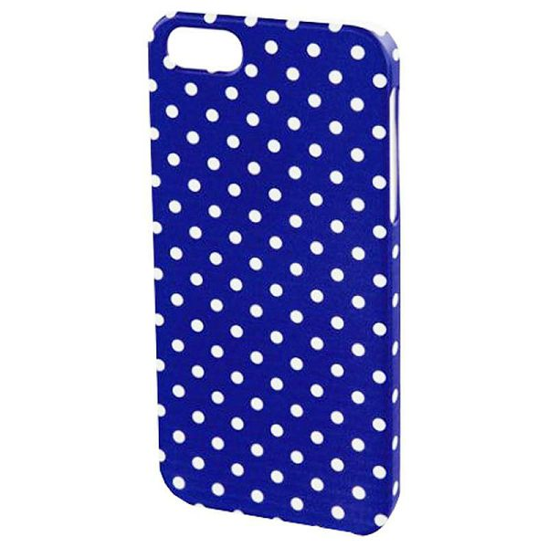 Cover iPhone 5/5s/SE blue/white 135215