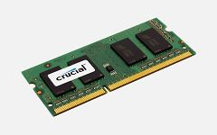Crucial 2GB DDR3 1600 MT/s PC3-12800
