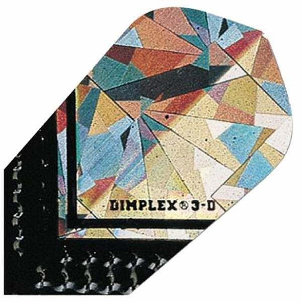 Dimplex 3D Slim Silver Black