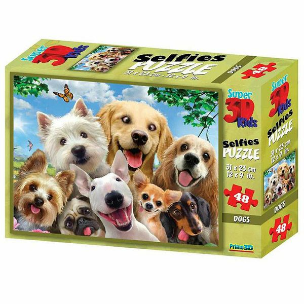 Dog Selfie 3D Puzzle