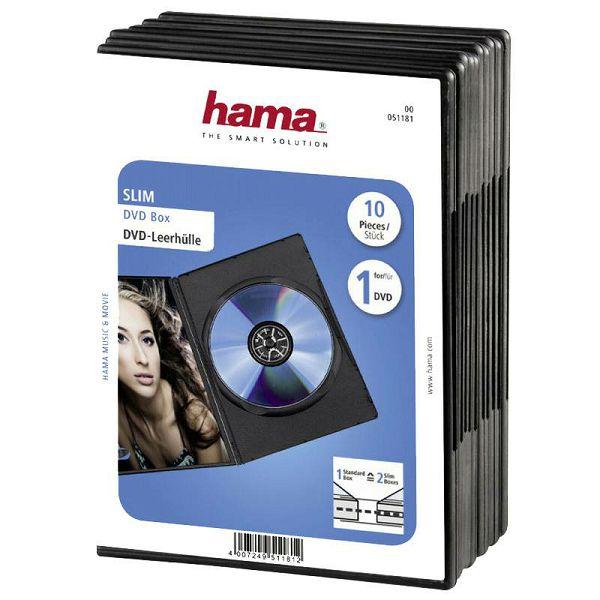 DVD kutije 10 komada 51181