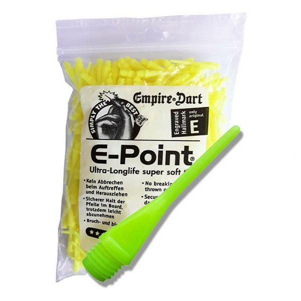 E-Points® 1/4 dugi neon žuti 500 komada