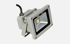 Eneride LED Floodlight 10W/230V, 3000K, warm white