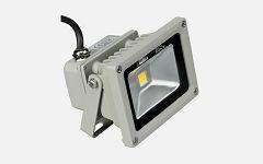 Eneride LED Floodlight 10W/230V, 3000K, warm white