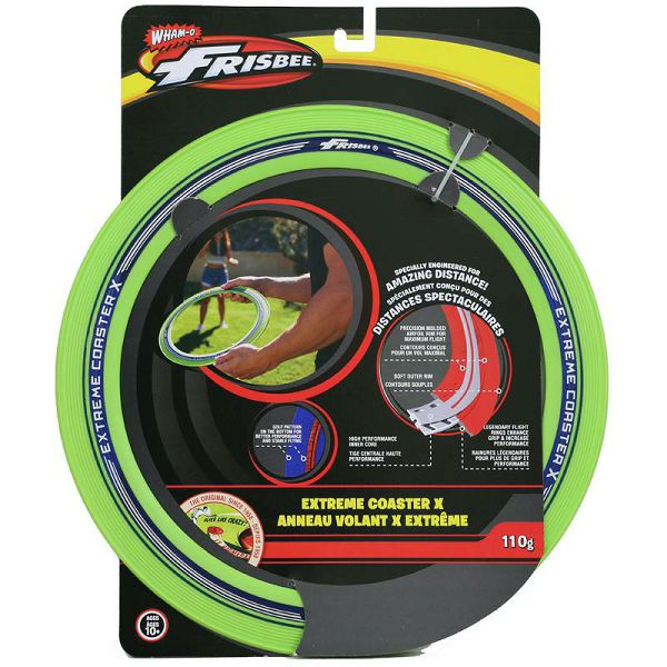 Extreme Coaster Frisbee Green