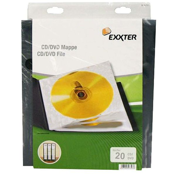 Exxter CD/DVD File 20 komada 105110