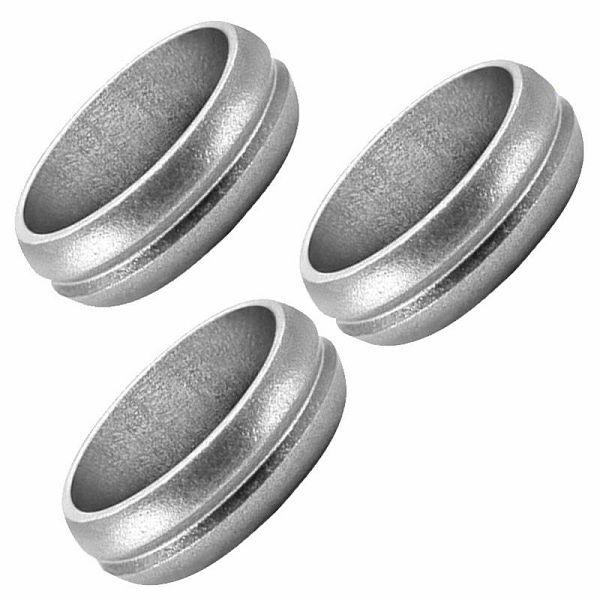 F-Lock Rings Aluminium Silver