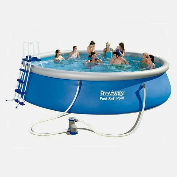 Fast Set™ Pool & Filter & Ljestve 4,57 m