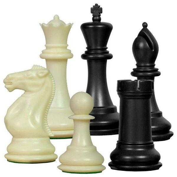 Figure Staunton Plastic KH 98 mm & 2xQ