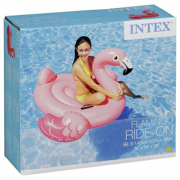 Flamingo Ride-On Pool Float