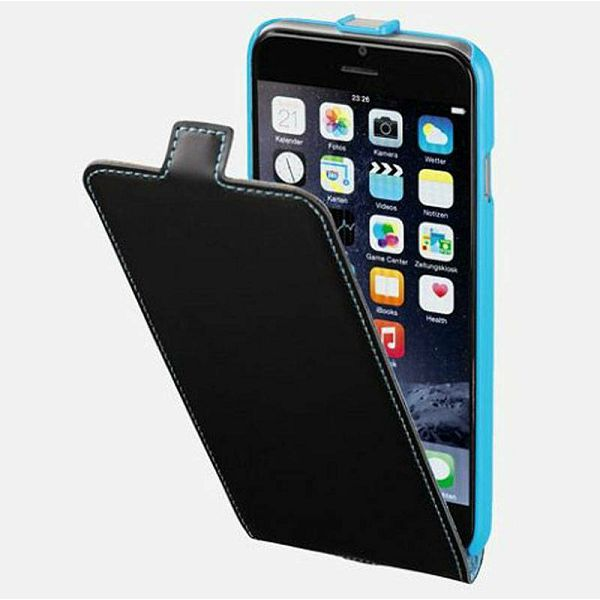 Flap Case iPhone 6 Black/Blue 135024