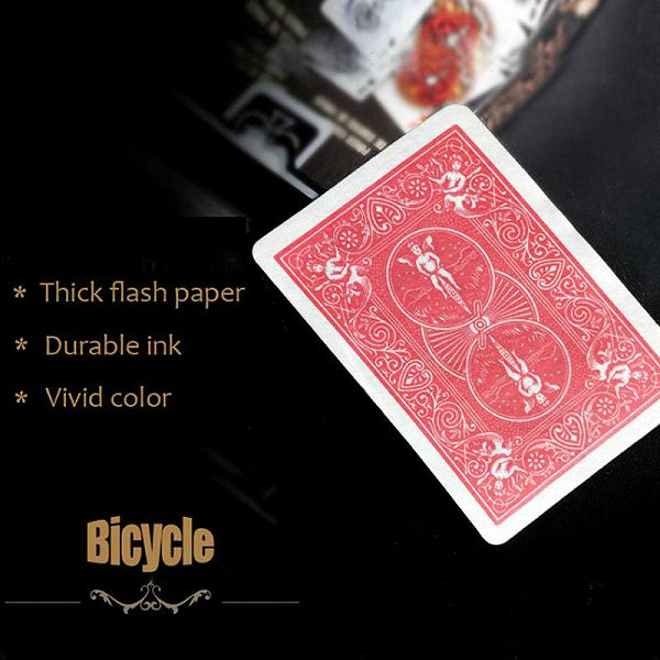 Flash Cards Bicycle red back