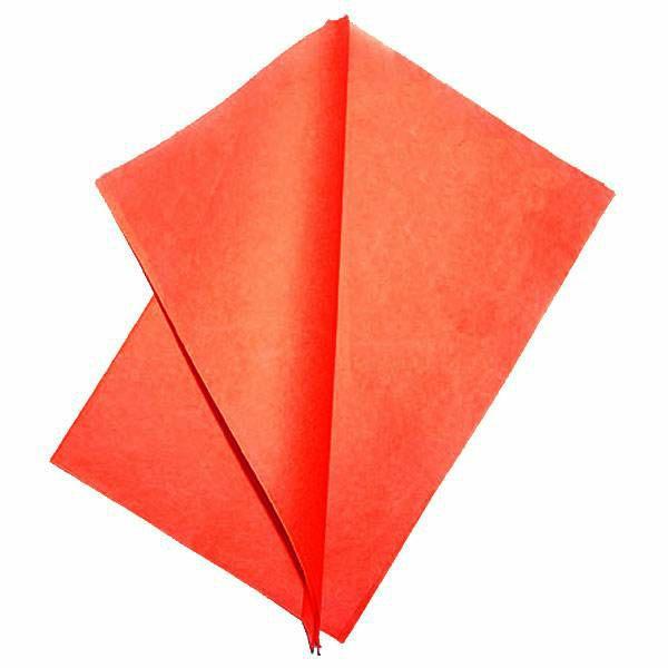 Flash paper 4x 20x25 Red