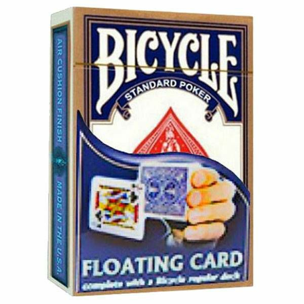 Floating card & Bicycle deck Blue