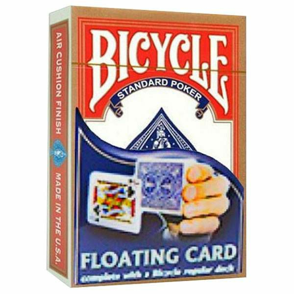 Floating card & Bicycle deck Red