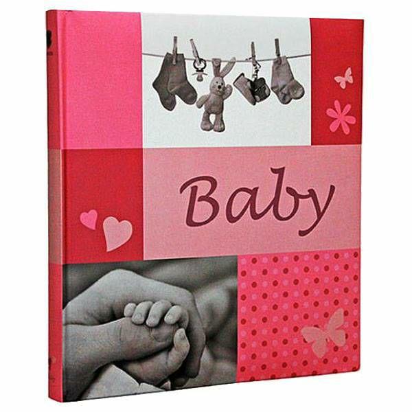 Foto album Jessy pink Baby 10x15 /180