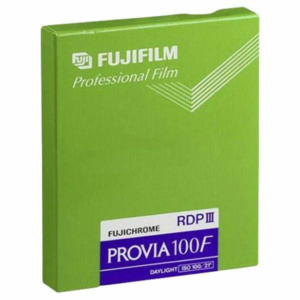 Fujifilm Provia 100 F 4x5 20 Sheets
