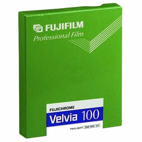 Fujifilm Velvia 100 4x5 20 Sheets