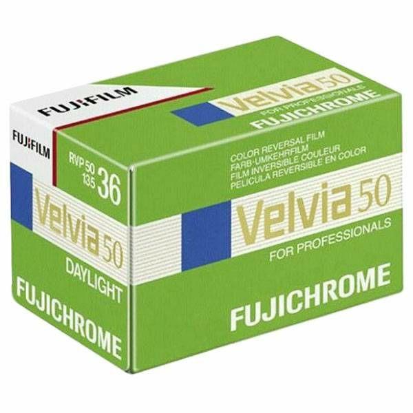 Fujifilm Velvia 50 135/36 New