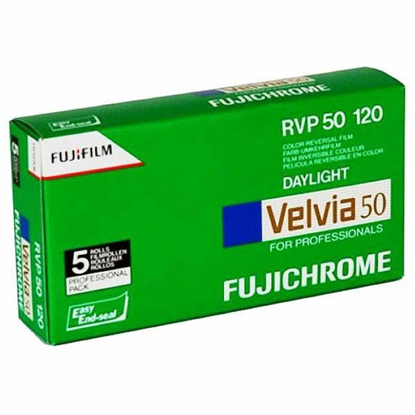 Fujifilm x5 Velvia 50 120 New