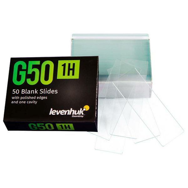 G50 1H Single Cavity Blank Slides