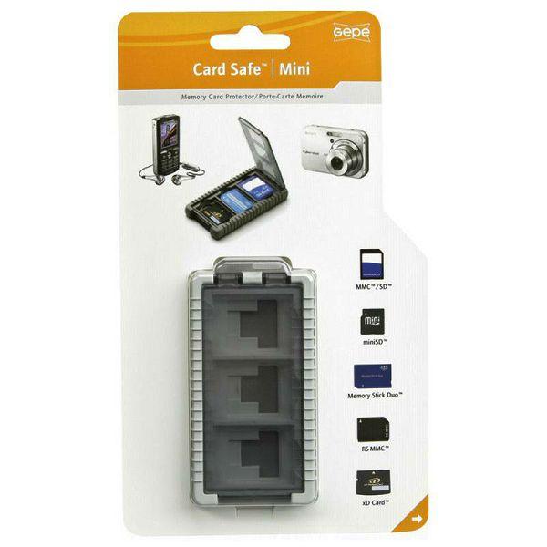 Gepe Card Safe Mini onyx