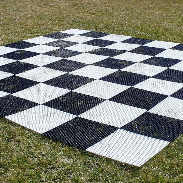 Giant Plastic Chess Board