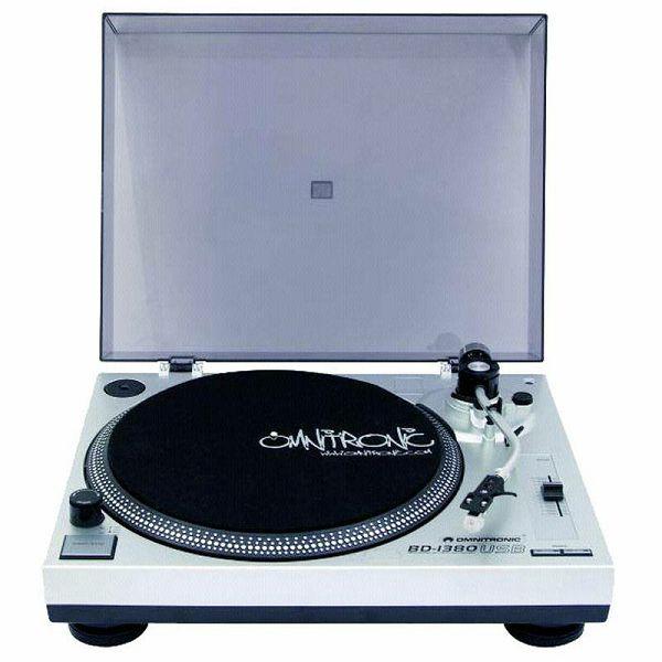 Gramofon Omnitronic BD-1380 silver