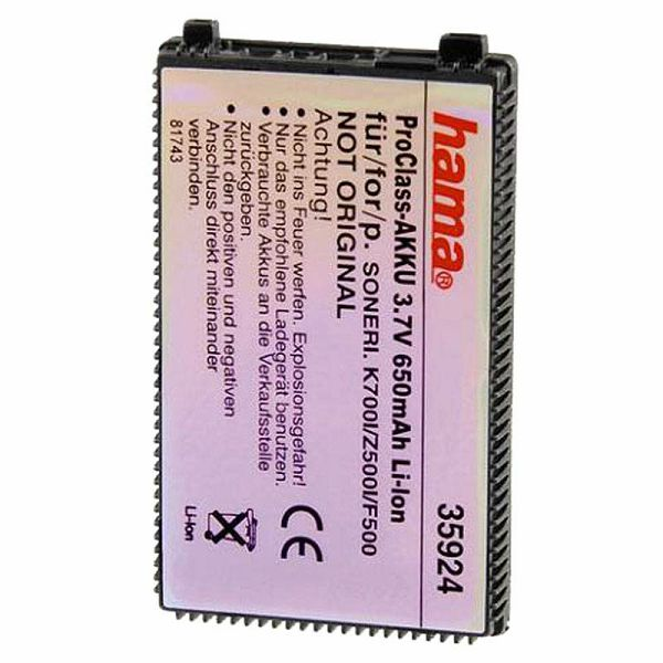 Hama baterija 3,6V/650mAh Li-Ion 35924