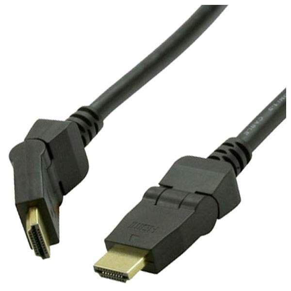 HDMI kabel Vedimedia Rotator Type 2 m