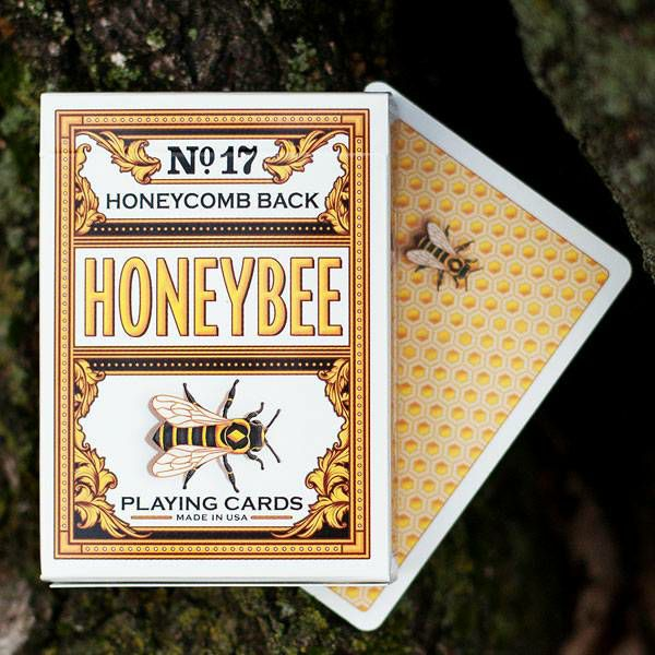 Honeybee V2 Playing Cards Yellow
