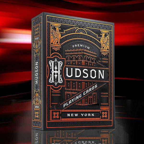 Hudson Playing Cards Black