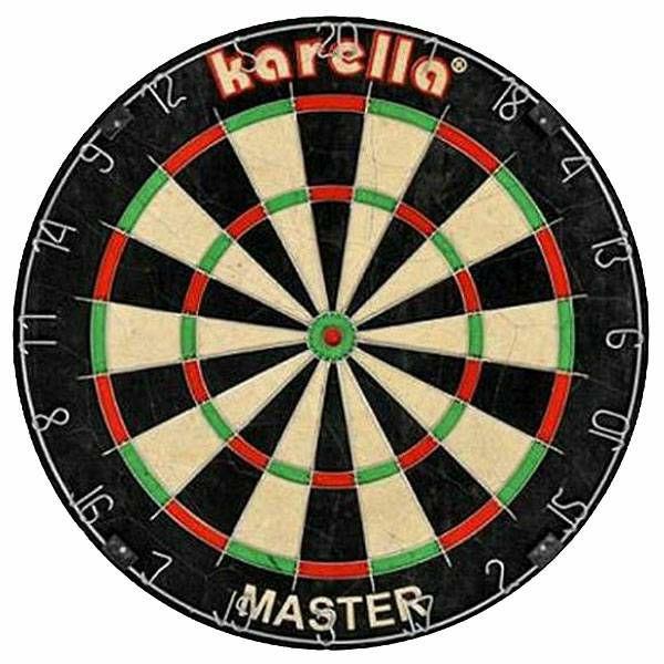 Karella Master dartboard