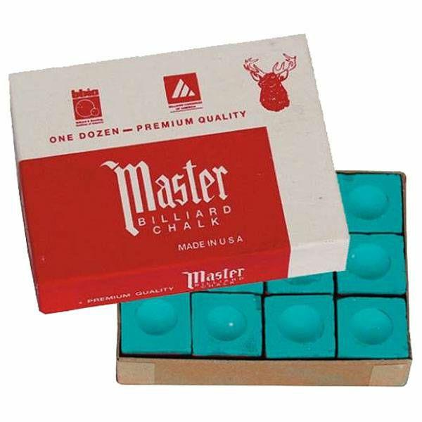 Kreda Master zelena 12 komada