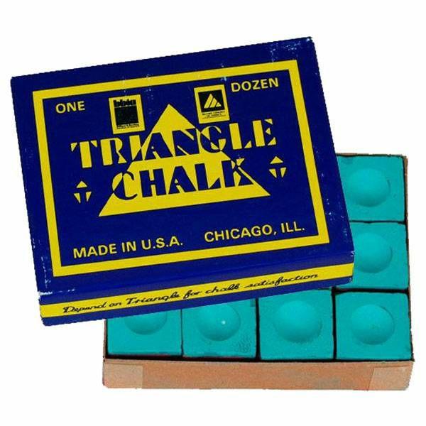 Kreda Triangle zelena 12 komada