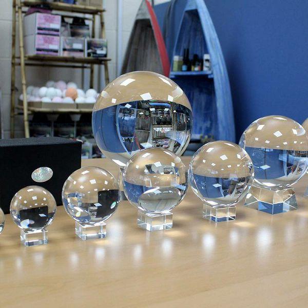Kristalna kugla 100 mm
