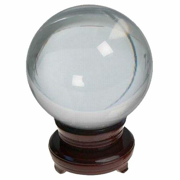 Kristalna kugla 8 cm 3391