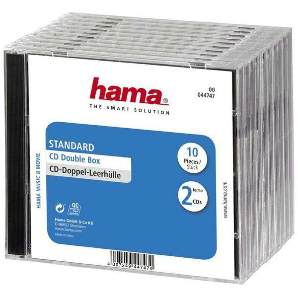 Kutije za CD Double 10 komada 44747