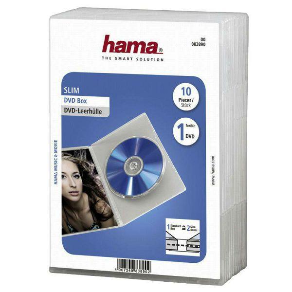 Kutije za DVD 10 komada 83890