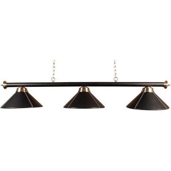Lampa Black Leather 3 sjenila
