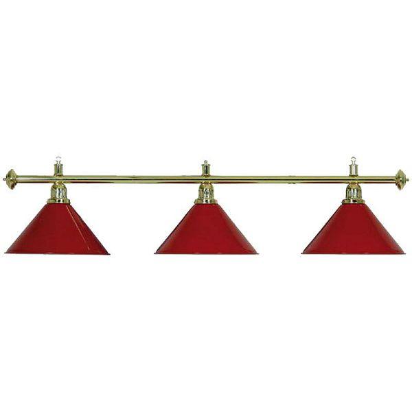 Lampa X3 Brass crvena 3 sjenila