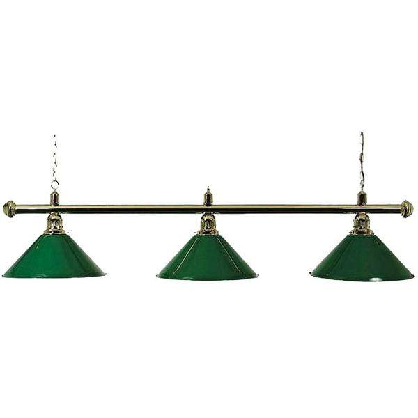 Lampa X3 Brass zelena 3 sjenila