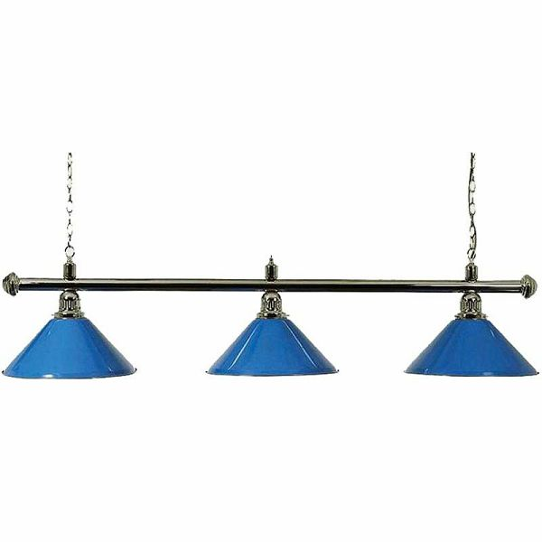 Lampa X3 Chrom plava 3 sjenila