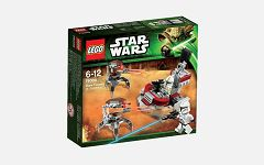 Lego 75000 Star Wars Clone Troopers vs Droidekas